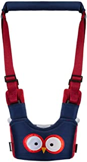 MUZOCT Baby Toddler Walking Assistant, Safe Stand Hand Held Learning to Walk Helper, Adjustable Protective Belt Carry Trooper Walking Harness Wings Learning