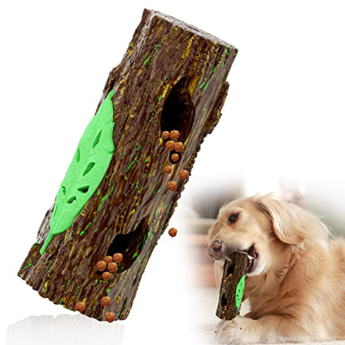Dog Chew Toys for Aggressive Chewers, Tough and Durable Dog Dental Chew and Interactive Dog Toys for Medium Dogs and Large Breeds Teeth Cleaning Chewing
