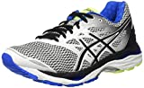 ASICS T6C3N0190, Zapatillas De Running para Hombre, Blanco (White / Black / Electric Blue), 40.5 EU