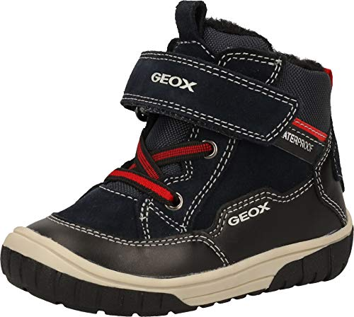 Geox Baby-Boys B OMAR Boy WPF A Ankle Boot, Blue (Navy/Black), 25 EU