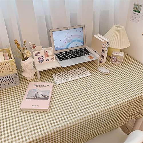 sans_marque Mantel, cubierta de mesa lavable que se puede utilizar para decorar la mesa de la cocina y el buffet de la encimera, y se puede limpiar mantel 40 x 60 cm