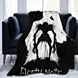 Blanket Micro Fleece Blanket Super Soft Plush Lightweight Blanket Death Note Ryuk Suitable for Bed, Sofa, Living Room 60'X50'
