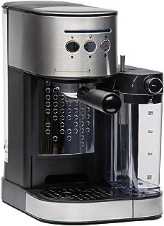 Molino Machine à expresso avec porte-filtre, machine à café avec mousseur à lait intégré, pilon et cuillère doseuse, facil...