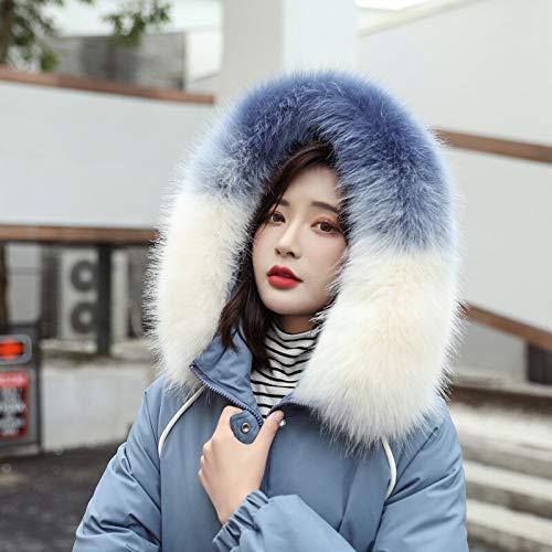 Xiaojie damesmantel van katoen korte simple lijnen dames winterjas katoen gewatteerde warm dikke grote voor collar dames korte coats damesjas