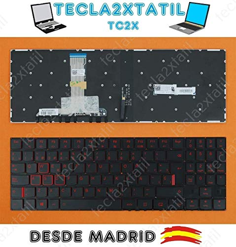 Teclado para PORTATIL Lenovo Legion Y520 Y720 R720 EN ESPAÑOL RETROILUMINADO Ver Foto