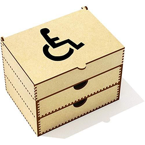 Azeeda 'Rollstuhl-Symbol' Kosmetikkoffer (VC00007073)