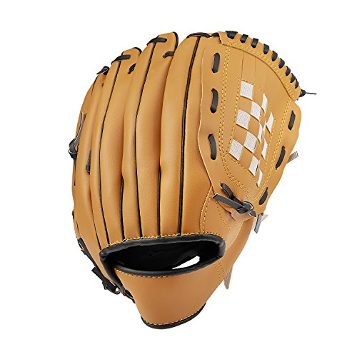 Baseball Glove Sports Batting Gloves Catcher's Mitt with PU Leather Baseball 10.5 inch 12.5 inch for Adult Youth Kids