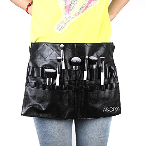 Valoxin (TM) Protable cosmetico makeup Brush PVC Apron bag Artist Belt strap Professional make up bag Holder
