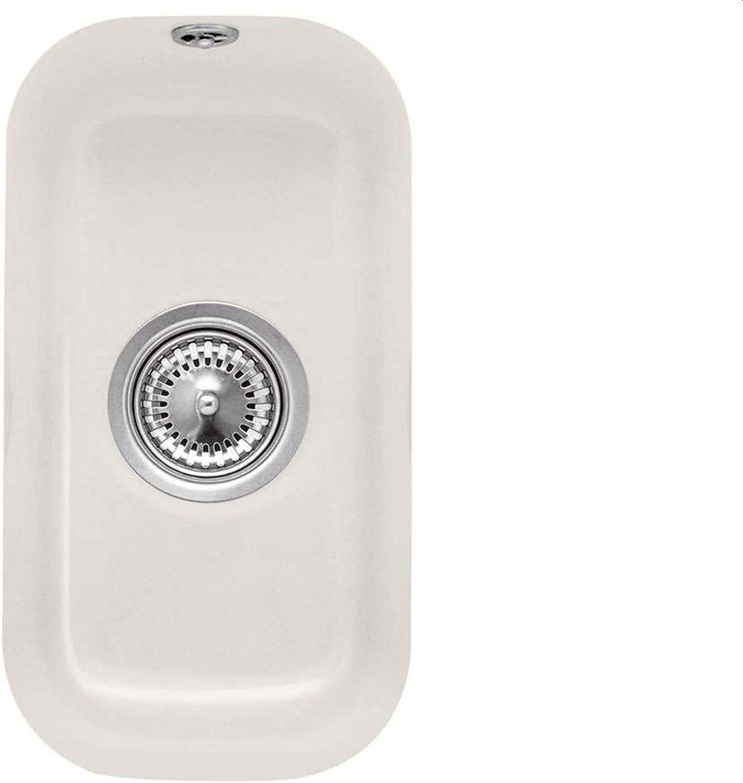 Villeroy & Boch Cisterna 26 Crema Keramik-Spüle Unterbauspüle Becken Beige Creme
