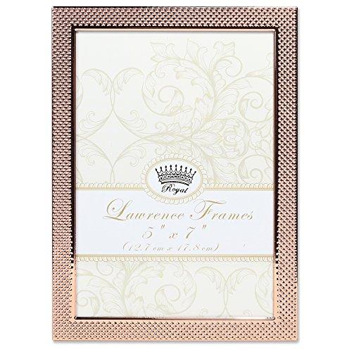 Lawrence Frames 5x 7Rehkitz pin Dot Muster Kupfer Bilderrahmen