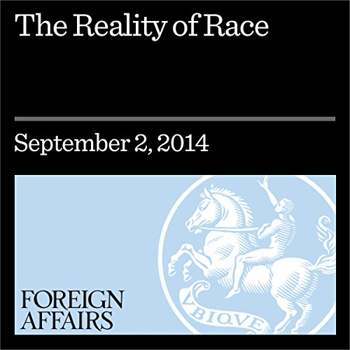 The Reality of Race audiobook cover art