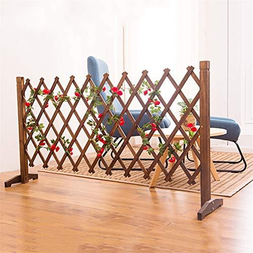 Ausdehnender Zaun, verdicken Holzgarten Gitter/Weihnachtsbaumzaun, for Pflanze Klettern Trellis Home Partition Dekorative (Size : 70cmx28cm)
