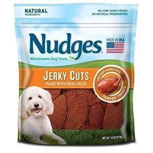 Nudges Roasted Duck Tenders Jerky Dog Treats