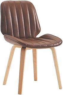 ZHANGZZ Sillas de comedor Artículos for el hogar sillas de madera, sillas de comedor de franela moderno, silla comedor marrón / madera.estilo escandinavo.sala de estar, comedor, hotel, cocina silla-11