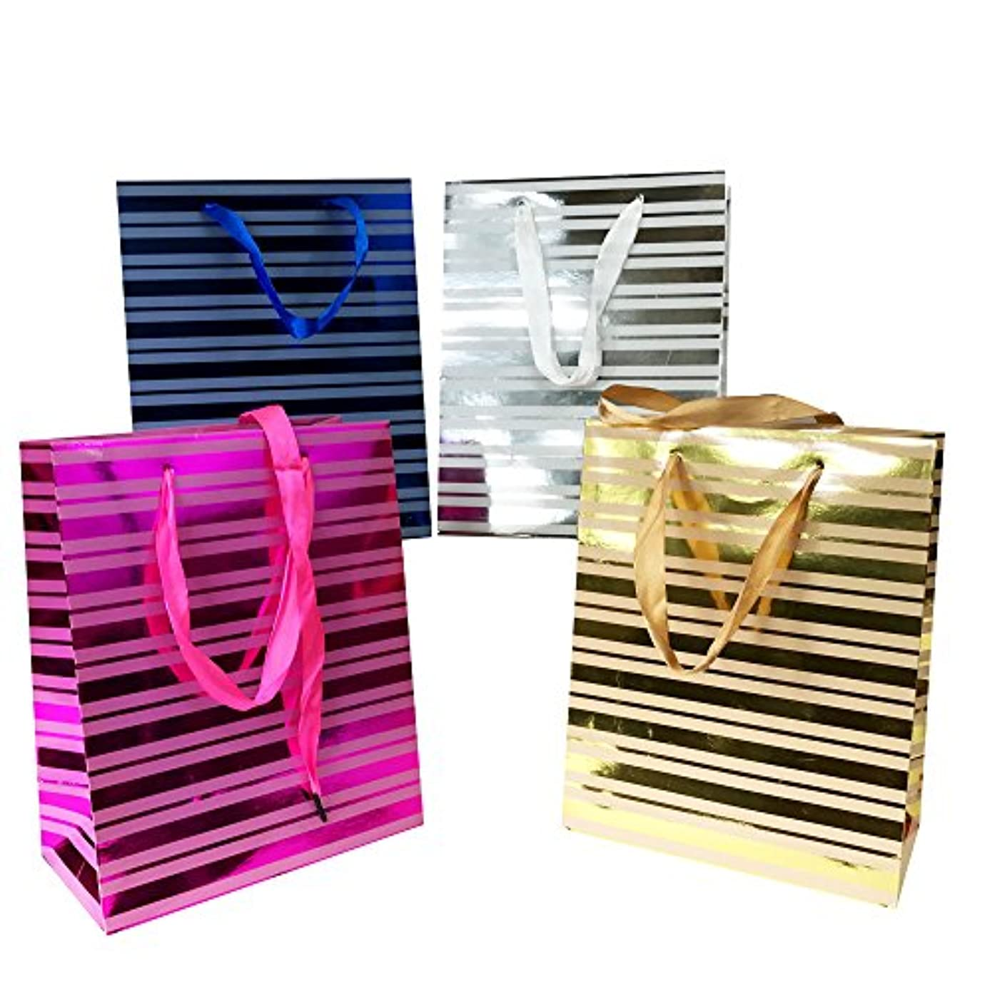 Allgala 12-PC Premium Everyday Designed Gift Bags