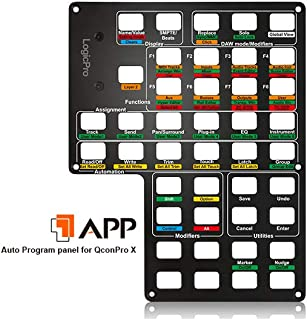 Icon Pro Audio Icon ICOA-APPLP Logic Auto-Detect Panel for QCon Pro X
