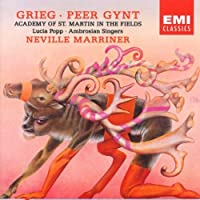 Grieg: Peer Gynt, Incidental Music Op. 23 - Lucia Popp, Sir Neville Marriner, Ambrosian Singers, Academy of St. Martin in the Fields by Popp (2004-01-01)