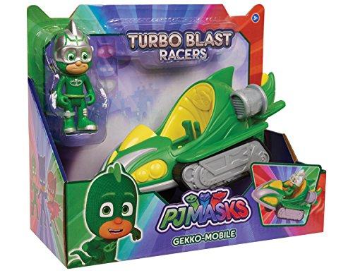 JP PJ Masks jpl24978Gekko Turbo Blast Fahrzeug Spielzeug
