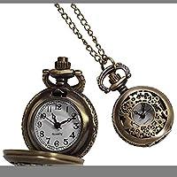 不思議の国のアリス 懐中時計 アンティーク風 うさぎ ウサギ レディース ネックレス ペンダント 子供 プレゼント PR-AL