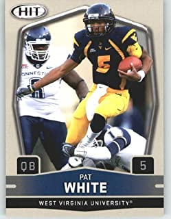 2009 Sage HIT 15B Pat White QB (Running Ball)(RC - Rookie Card - Variation) First Card of the 2009 NFL Rookies