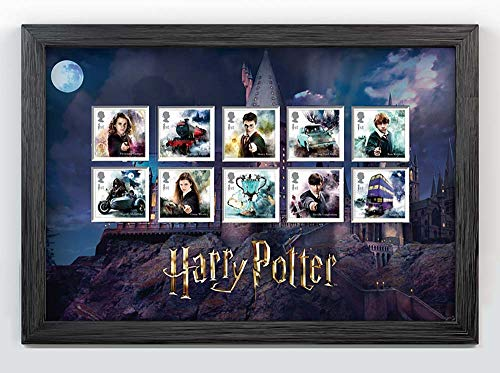 Harry Potter favolosa timbro set 1st Class
