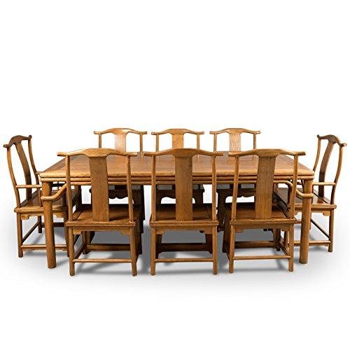 London Fine Antiques Mitte Chinesische Tisch und 8Stühle in traditionellen Geschmack