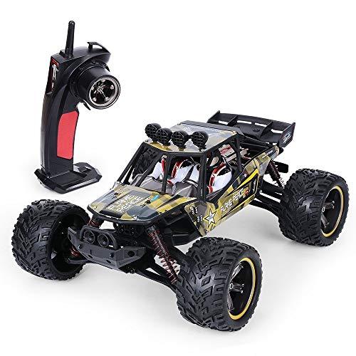 ZAKRLYB RC Cars 26 mph Camión de Control Remoto de Monster Racing de Alta Velocidad Escala 1/12 2.4 GHz 2WD Monster Car Todoterreno a Prueba de Agua Los Mejores Regalos for niños Adultos