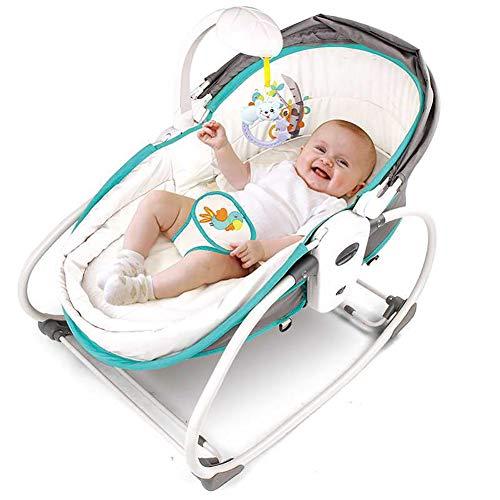 Baby schommelstoel, Baby Shake Blauw, Baby schommelstoel, Geschikt voor pasgeboren kinderen