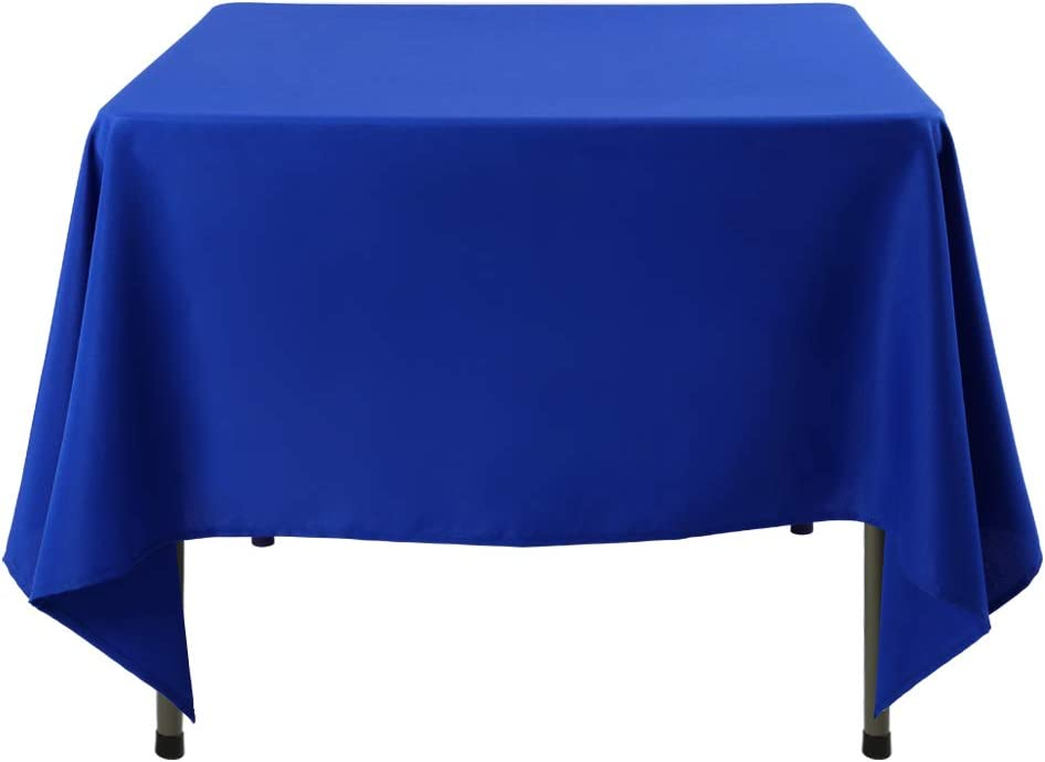 Waysle Square Super sale period limited Tablecloth 85 x Inch Table 35% OFF Blue Royal f Cloth
