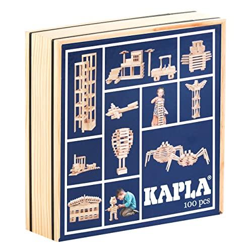 Kapla 100 Bloques de Madera
