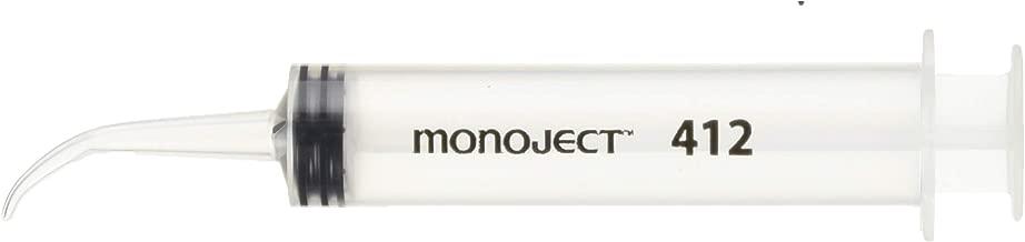 Monoject 3072331 Curved Tip Syringe, 12 mL, 0.5