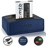 Micro USB Cargador de Batería para Casio Exilim EX-S1 EX-S1PM//EX-S2 EX-S2PW