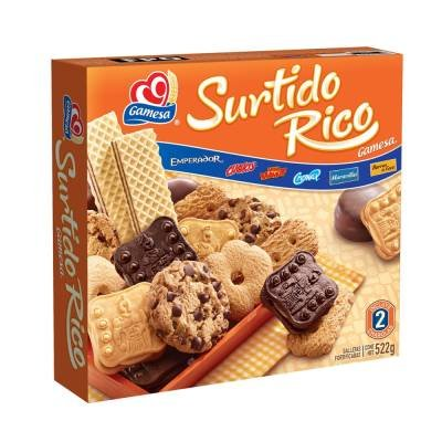 Gamesa Cookies Surtido Rico, Assorted, Galletas 18.4 ouces