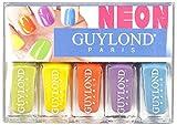 guylond Neon Nail Varnish Set, 1er Pack (1x 20ml)