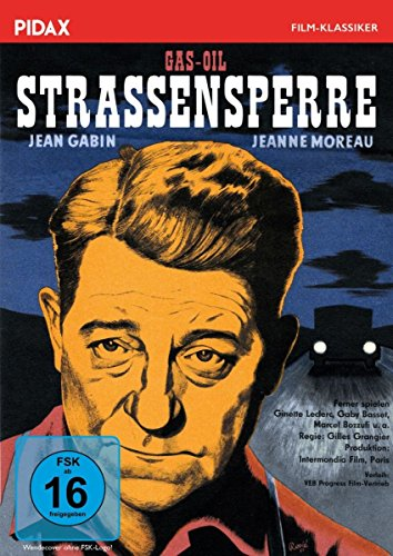 Straßensperre (Gas-Oil) / Außergewöhnlicher Film noir mit Jean Gabin und Jeanne Moreau (Pidax Film-Klassiker)