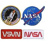 5 piezas NASA Iron On...