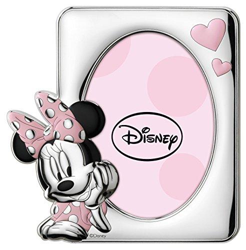 Disney Baby - Cadre photo Minnie à poser - en argent - pour chambre d'enfant/de bébé