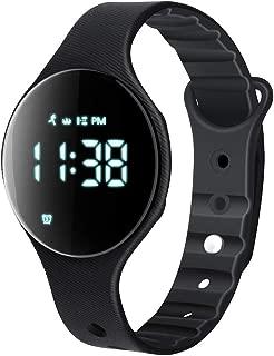 Fitness Tracker Watch, T6A Non-Bluetooth Smart Bracelet Walking Pedometer Watch Step Counter/Calorie Burned/Distance/Alarm/Stopwatch for Kids Men Women