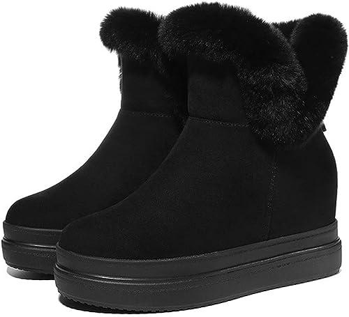 SFSYDDY Chaussures Populaires De Nouvelles Bottes Chaussures De Ski Au Coton Bottes De Dessous De Muffins