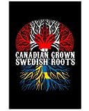AZSTEEL Canadian Grown Swedish Roots | Poster No Frame
