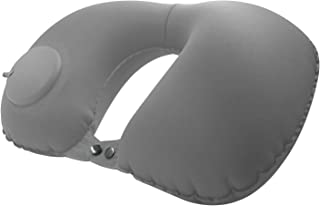 MEIQ Inflatable Travel Pillow, U Shape Pillows, Compact Portable Head and Neck Support Pillows, Lightweight & Washable Cus...
