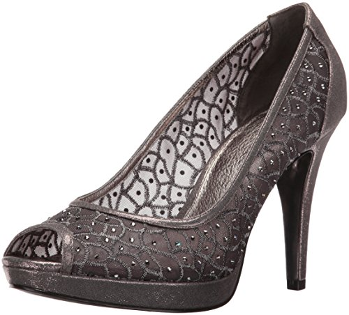Adrianna Papell Women's Foxy Dress Pump, Gunmetal, 9 UK/9 M US