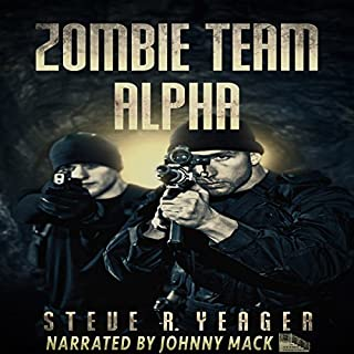Zombie Team Alpha audiobook cover art