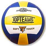 Acehmks Volleyball,Balón de Voleibol de Playa, Talla 5 (Azul)