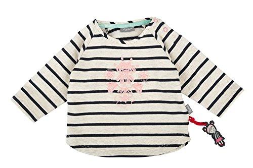 Sigikid Baby-Mädchen Sweat Shirt, Sweatshirt, Beige (Melange Art 472bl 432), 74