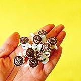 SANHOC New ~ 10 PC-Miezekatze Kaffeetassen/Puppenhaus/Miniaturen/reizende Nette/Fee Gartenzwerg/Moos Terrarium Deko/Bonsai/Figuren: 10 Latte