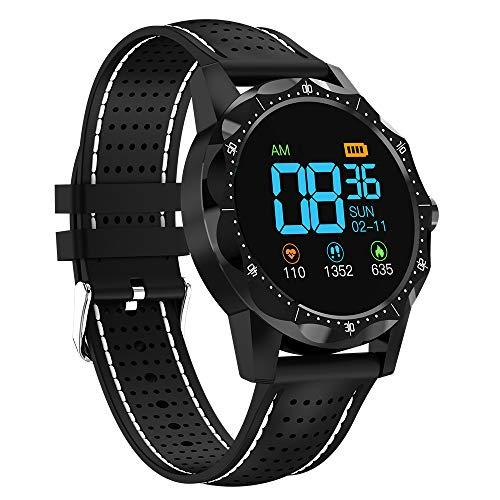 Lixada Smartwatch, Fitness Armband Uhr Herzfrequenz Blutdruck Tracker Sportuhr Schrittzähler Kalorienzähler Schlafüberwachung, IP68 Wasserdicht, für Damen Herren Smart Armband für iOS Android Handy