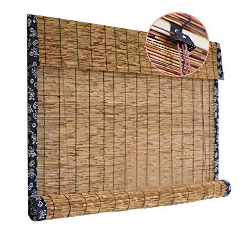 Tenda in midollino tapparella a rullo avvolgibile sole bamboo arella oscurante