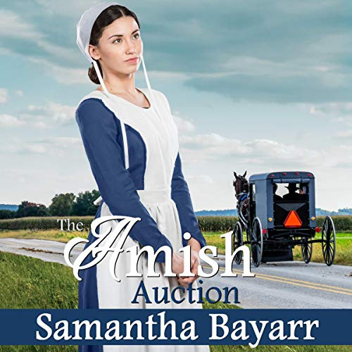 The Amish Auction audiobook cover art
