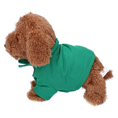 Fybida Robot Perro Perro de Juguete electrónico eléctrico Inteligente Regalo para niños para el hogar Regalo para niños(Teddy)